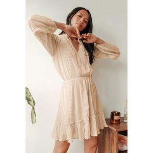 Lulu's | No Ordinary Love Swiss Dot Mini Dress